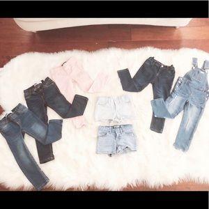 Toddler Girl Jeans Lot